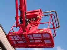 Röd körsbärsröd plockaremaskin Royaltyfri Fotografi