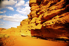 Röd kanjon Royaltyfri Bild