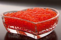 Röd kaviar Royaltyfri Fotografi