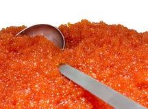 Röd kaviar Arkivbilder