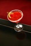 Röd kinesisk drink Arkivfoto