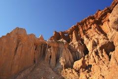 Röd klippa Arkivbild