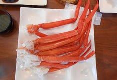 Röd konung Crab Fotografering för Bildbyråer