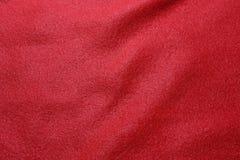 Röd krabb tygbakgrund arkivfoto
