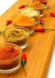 röd krydda för chilijordning Royaltyfria Foton
