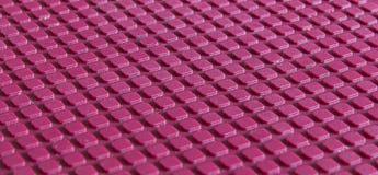 Röd kubtextur för abstrakt begrepp 3D Arkivfoto