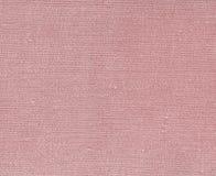 Röd kulör naturlig textiltextur Royaltyfria Bilder