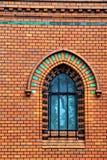 Röd kyrka i Postorna Royaltyfri Bild