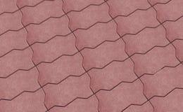 Röd låsstenläggningtextur wallpaper royaltyfri illustrationer