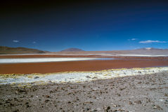 Röd Lake Arkivfoton