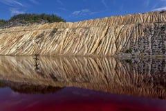 Röd Lake Royaltyfri Foto