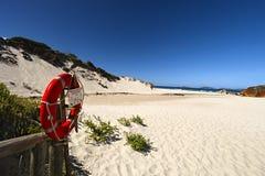 Röd Lifesavingcirkel Arkivfoton