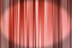 Röd linjebakgrund med mörk karaktärsteckning Arkivbild