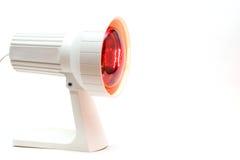 Röd-ljus-lampa Arkivfoton
