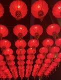 Röd lykta royaltyfria bilder