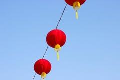 Röd lyktafestival, kinesiskt nytt år Royaltyfri Fotografi
