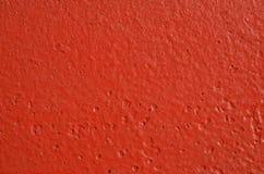 Röd målarfärg för textur Royaltyfri Bild