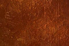 Röd målningtextur Arkivfoto