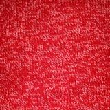 Röd marmorerad stucken bakgrund Royaltyfria Bilder