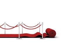 Röd matta Royaltyfri Foto