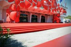 Röd matta, 70th Venedig filmfestival Royaltyfri Foto