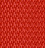 Röd metallisk dekorativ bakgrundsvektor Arkivfoton