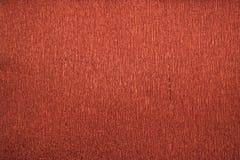 Röd metallisk färgkräppapper för naturliga texturer 40 procent elasticitet Arkivbilder