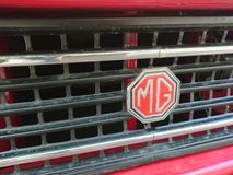 Röd MG tappningbil Royaltyfri Foto