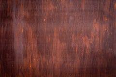 Röd modell för grungerostmetall royaltyfri foto