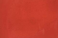 Röd modell för väggtexturbakgrund Arkivbilder