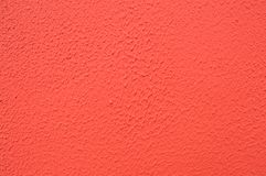 Röd murbruk på väggen, textur Fotografering för Bildbyråer