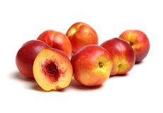 Röd nektarin arkivfoto