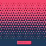 Röd och blå abstrakt triangelbakgrund Arkivfoton