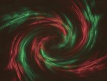 Röd och grön abstrakt bakgrund Arkivfoton
