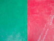 Röd och grön bakgrund Fotografering för Bildbyråer