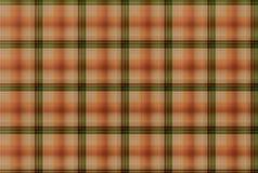 Röd och grön modell för tartan - plädklädtabell Arkivfoto