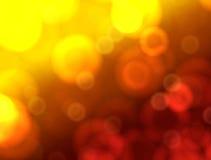 Röd och gul bakgrund Arkivbilder