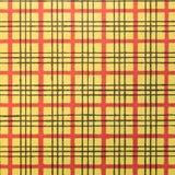 Röd och gul bandmodell royaltyfri fotografi