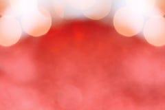Röd och guld- bakgrund Arkivfoton