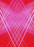 Röd och rosa ljus slingabakgrund Arkivbilder