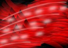 Röd och svart bakgrund Arkivfoto