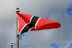 Röd och svart flack Royaltyfria Bilder