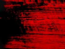 Röd och svart wood bakgrund Royaltyfri Bild
