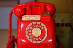Röd offentlig telefon för Payphone av Japan Royaltyfria Bilder