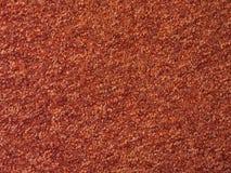 Röd orange matttextur - bakgrund Royaltyfri Fotografi