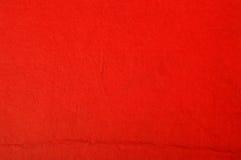 Röd pappers- textur Arkivfoton