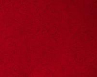 Röd pappers- textur för Grunge Royaltyfria Bilder