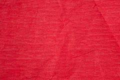 Röd pappers- textura Royaltyfri Foto