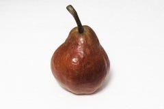 Röd pear Arkivfoto