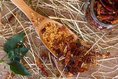 Röd peppar för Chili Fotografering för Bildbyråer